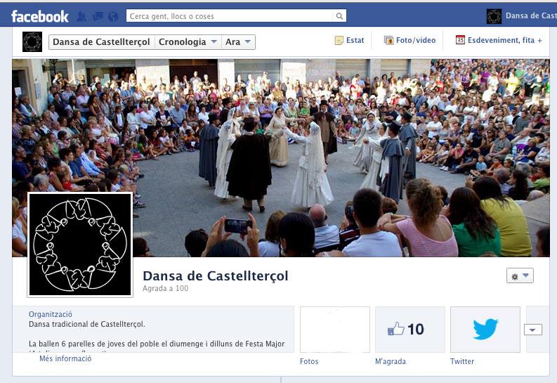 Facebook oskuld dansa i Stockholm